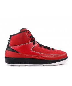 Air Jordan 2 Retro gs VARSITY RED 395718 601