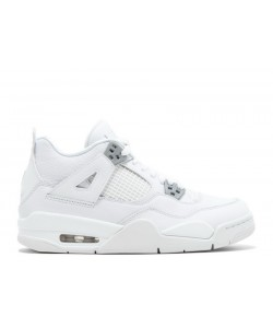 Air Jordan 4 Retro Bg GS Pure Money 408452 100