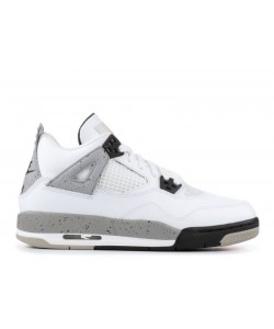 Air Jordan 4 Retro Og Bg GS White Cement 836016 192