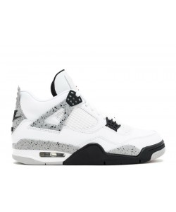 Online Cheap Air Jordan 4 Retro Og White Cement 2016 Release 840606 192