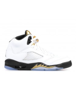 Air Jordan 5 Retro Bg gs Olympic Gold 440888 133