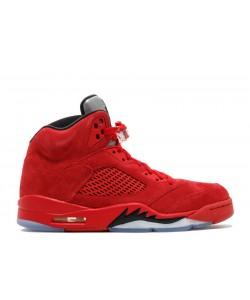Air Jordan 5 Retro Red Suede 136027 602