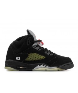 Air Jordan 5 Retro Black Metallic 2007 GS 134092 004