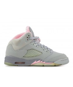 Air Jordan 5 Retro SILVER SHY PINK GS 134092 061