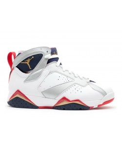 Air Jordan 7 Retro Olympic 2012 Release 304775 135