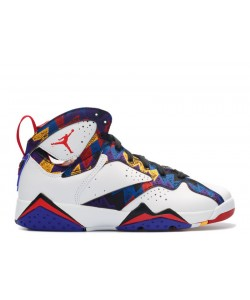 Air Jordan 7 Retro Nothing But Net GS Womens 304774 142