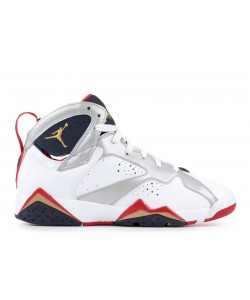 Air Jordan 7 Retro gs Olympic 2012 Release 304774 135