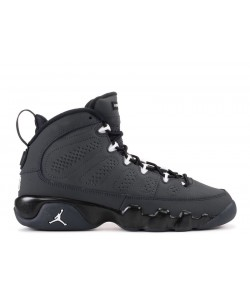 Air Jordan 9 Retro Anthracite BG Women's 302359 013