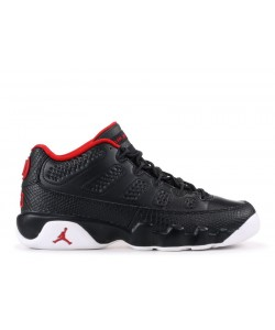 Air Jordan 9 Retro Low Bred GS Women's 833447 001