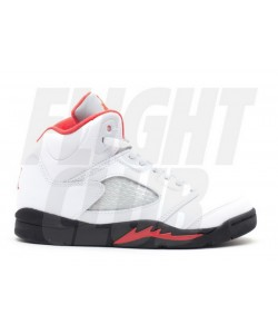 Jordan 5 Retro PS Fire Red 2013 Release 440889 100