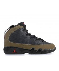 Jordan 9 Retro black light olive true red 302360 031 Online Sale