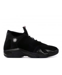 Air Jordan 14 Retro Black Real Pink Women's 312274 001