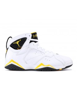 Air Jordan 7 Retro White Varsity Maize Wmns 313358 172