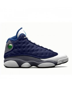 2020 Air Jordan 13 Flint Grey-White-University Blue 414571-404