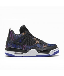 Air Jordan 4 SE GS Rush Violet Racer Blue BQ9043-005