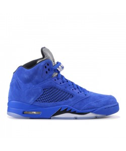 Air Jordan 5 Retro Blue Suede 136027 401