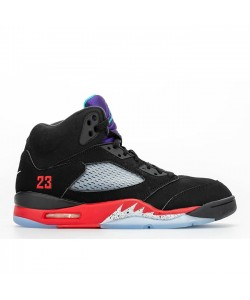 Air Jordan 5 Top 3 Black Red Grape CZ1786-001