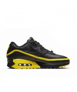 Black Optic Yellow Undefeated x Air Max 90 CJ7197-001