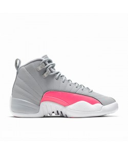 Girls 12s Racer Pink Retro Jordan 510815-060 Cheap Sale