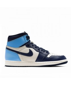 Jordan 1 High OG UNC Obsidian University Blue 555088-140 - UA