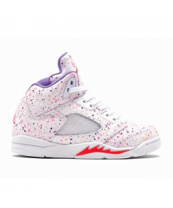 Air Jordan 5 GS Easter Laser Crimson Voltage Purple CT1605-100