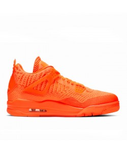 Jordan Retro 4s Flyknit Total Orange AQ3559-800