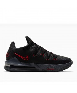 LeBron 17 Low Bred Black Red CD5007-001