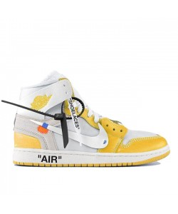 Air Jordan 1 Off-White Canary Yellow