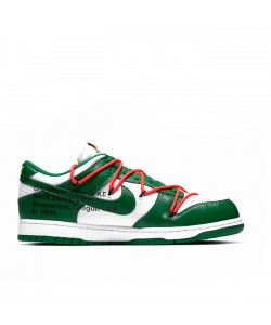 Pine Green Off-White x Dunk Low CT0856-100