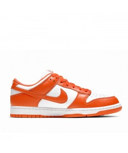 2020 Syracuse Dunk Low White/Orange Blaze CU1726-101