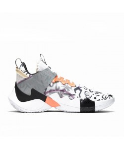 Why Not Zer0.2 SE White/Orange Pulse AQ3562-101