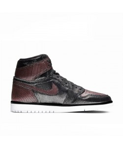 WMNS Fearless 1s Retro Jordan Black/Metallic Rose Gold CU6690-006