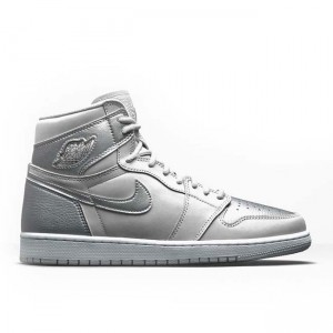 2020 Air Jordan 1 High OG Japan Metallic Silver DC1788-029