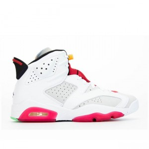 2020 Air Jordan 6 Hare Grey White Red Black CT8529-062