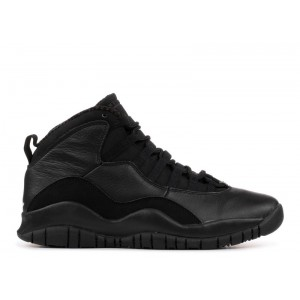 Air Jordan 10 Retro Blackout 310805 010