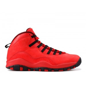 Air Jordan 10 Retro Steve Wiebe HOH Red AJ9100 625