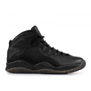 Air Jordan 10 Retro OVO x Black 2014 456934 295