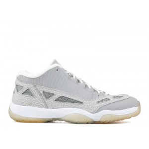 Air Jordan 11 Retro Low IE Silver Zest Men's 306008 072