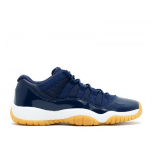 Air Jordan 11 Retro Low Navy Gum Women's 528896 405