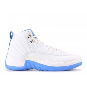 Air Jordan 12 Retro Melo White University Blue 136001 142