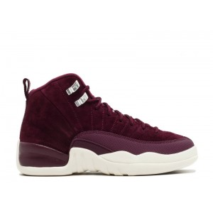 Air Jordan 12 Retro Bordeaux BG Women's 153265 617