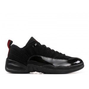 Air Jordan 12 Retro Low Black Patent 308317 001