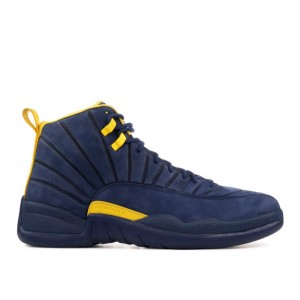 Air Jordan 12 Retro PE Michigan Psny AA1233 808572