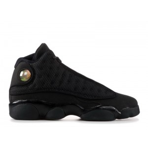 Air Jordan 13 Retro Black Cat BG Women's 884129 011