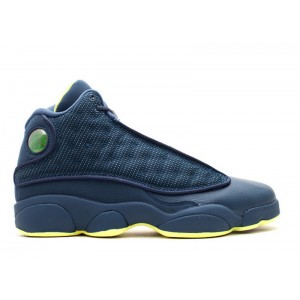 Air Jordan 13 Retro Squadron GS Womens 414574 405