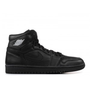 Air Jordan 1 Black Silver 2001 Addition 136060 002