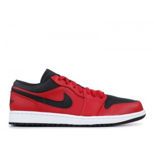 Air Jordan 1 Low Gym Red White Black Mens 553558 602 Sale Online