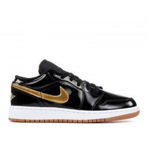 Air Jordan 1 Low Patent Leather GG Women's 554723 032
