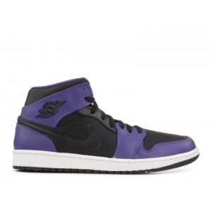Air Jordan 1 Mid Dark Concord 554724 019
