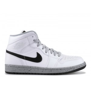Air Jordan 1 Mid White Cement 554724 115